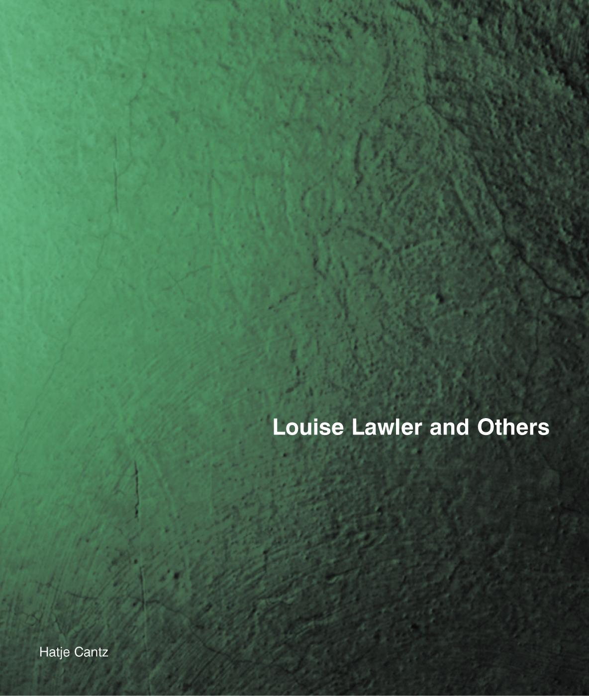 Hatje Cantz: Louise Lawler and Others book cover
